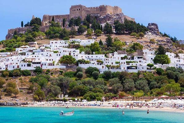 (fictif) - Circuit Périple depuis Rhodes 2 îles en 1 semaine - Rhodes et Symi 3* Rhodes Grece