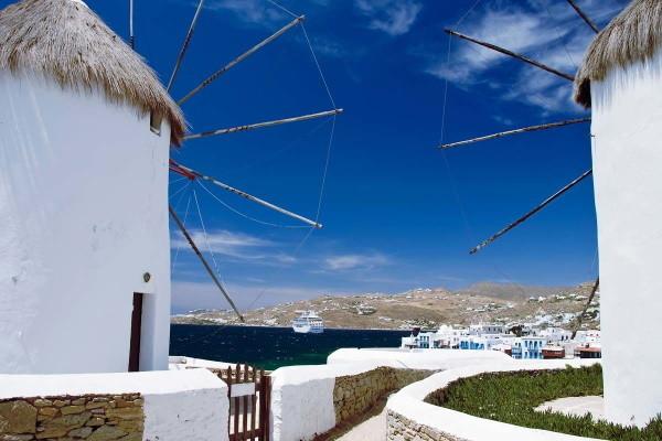 Ville - Circuit Découverte des Cyclades Santorin/Naxos ou Naxos/Santorin Santorin Grece