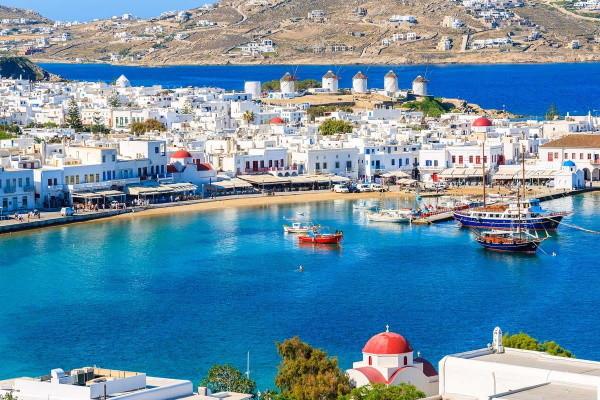 Ville - Circuit Périples dans les Cyclades depuis Santorin - Santorin, Mykonos, Naxos, et Paros 3* Santorin Grece