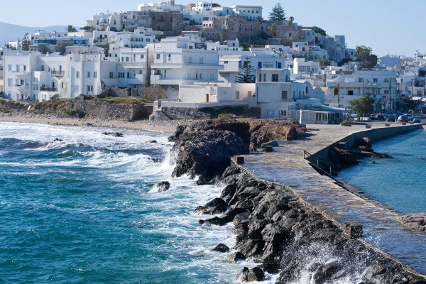 Ville - Circuit Combinés dans les Cyclades Depuis Santorin - Santorin et Naxos en Hôtel 3* Santorin Grece