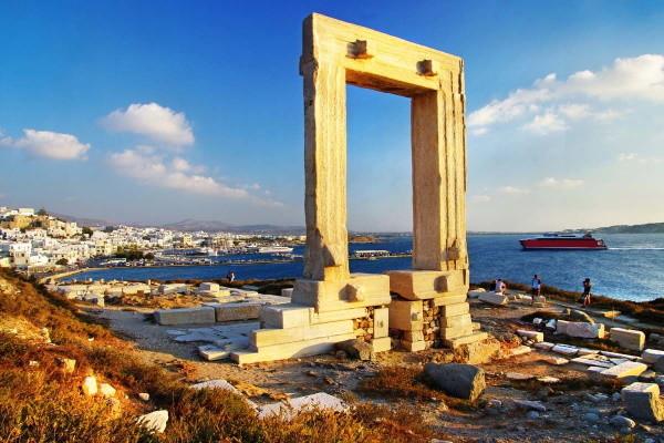 Monument - Circuit Combinés dans les Cyclades Depuis Santorin - Santorin et Naxos en Hôtel 3* Santorin Grece