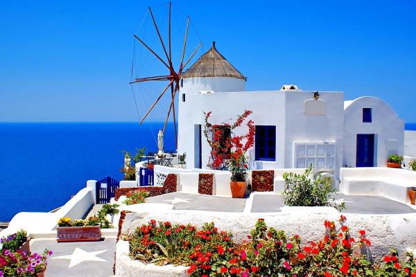 Ville - Circuit Périple dans les Cyclades depuis Santorin - Santorin, Naxos, Amorgos, et Paros 3* Santorin Grece