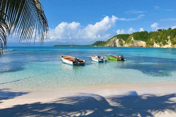 Plage - Combiné circuit et hôtel 5 iles 5 ambiances - 10N Pointe A Pitre Guadeloupe