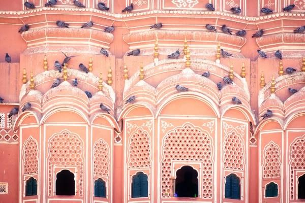 Temple des Vents - Jaipur
