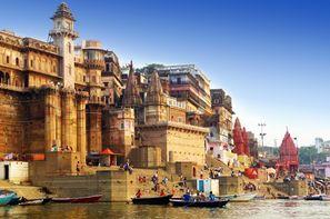 Vacances Delhi: Circuit Du Taj Mahal à Bénares : Rajasthan et Merveilles du Gange