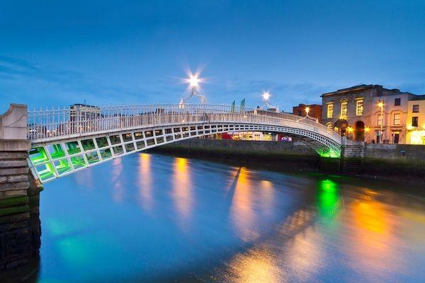 Ville - Circuit Grand Tour d'Irlande Dublin Irlande