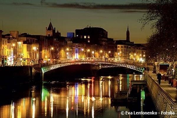 Ville - Hôtel Réveillon à Dublin - soirée du Nouvel An au Merry Ploughboy Irish Music Pub Dublin - Hôtel Mespil 4*