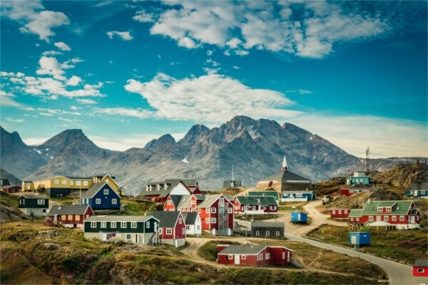 Ville - Circuit Epopée en terre Inuit - Groenland 3* Keflavik Islande