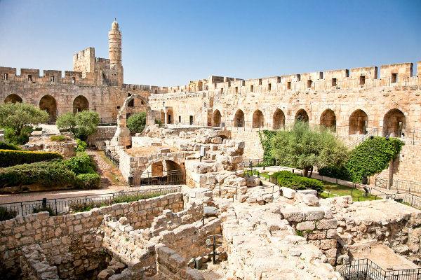Ruine de la tour de David
