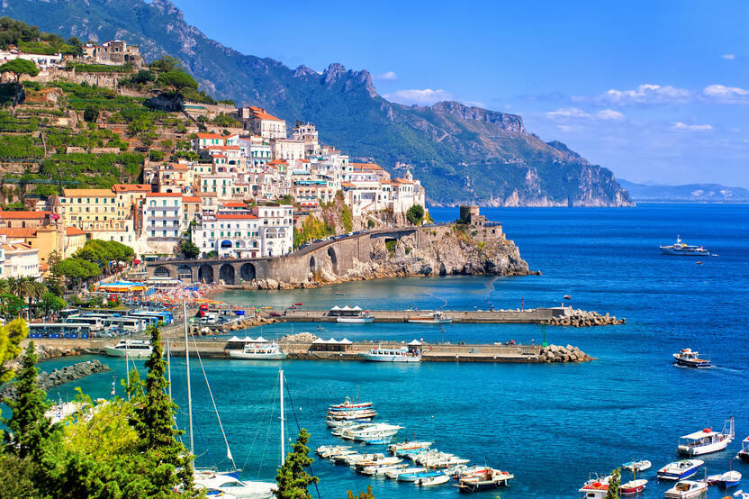 Nature - Circuit Richesses du sud italien Naples Italie