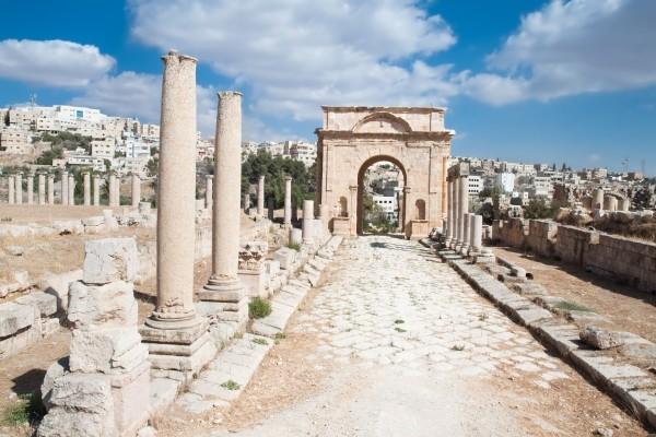 Monument - Circuit Grand tour de Jordanie