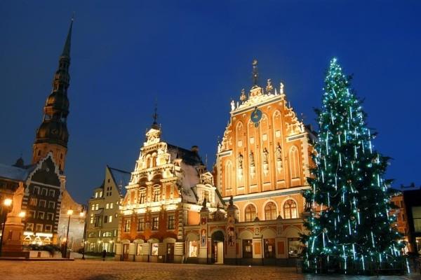 marché noel riga - Saint Sylvestre à Riga
