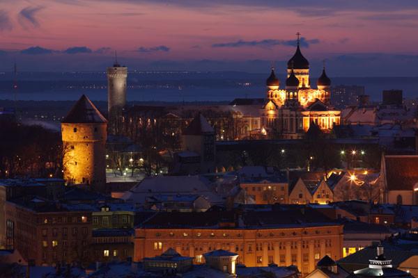 Ville - Circuit Splendeurs des Pays Baltes 3* Vilnius Lituanie