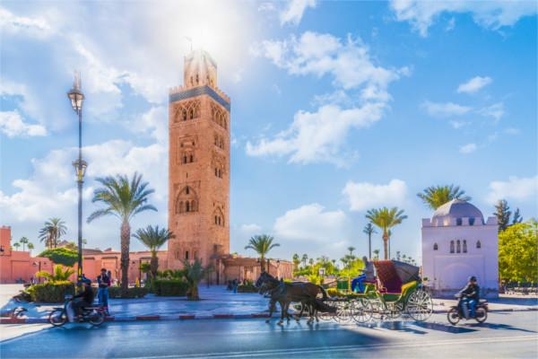 Monument - Circuit Découverte du Maroc - Villes Impériales 4* Marrakech Maroc