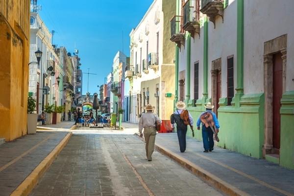 Ville - Circuit Splendeurs du Yucatan & Extension Belize / Guatemala Cancun Mexique