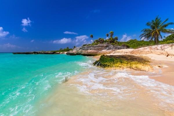 Plage - Circuit Splendeurs du Yucatan Cancun Mexique