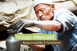 Nepal-Kathmandou, Circuit Nepal solidaire en terre Hymalayenne