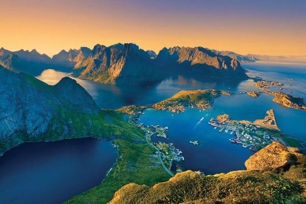 Nature - Circuit Majestueux Fjords & Iles Lofoten Oslo Norvege