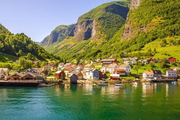 Village et nature