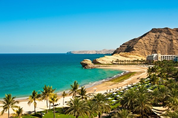 Plage - Circuit 1er regard Oman & Emirats 4* Mascate Oman