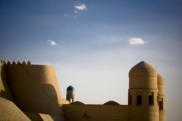 murs de la vieille ville de Khiva