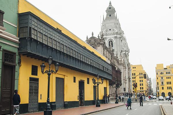 Ville - Circuit Confidentiel Pérou Lima Perou