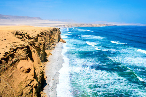Plage - Circuit Couleurs andines et extension Paracas et îles Ballestas Lima Perou