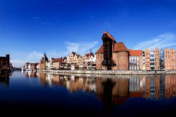 Vue de Gdansk