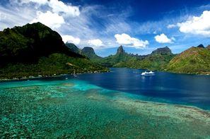 Vacances Tahiti: Combiné hôtels Combiné Cinq Iles : - Intercontinental / Maitai: Tahiti - Moorea - Huahine - Bora Bora - Rangiroa
