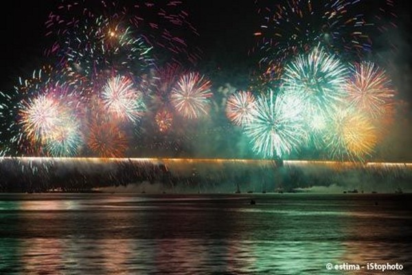 (fictif) - Hôtel Réveillon nouvel an à Lisbonne - Soirée au bord du bateau N/M Opréra - Hôtel VIP Executive Art's 4*
