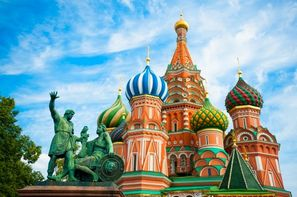 Vacances Moscou: Circuit Indispensable Russie