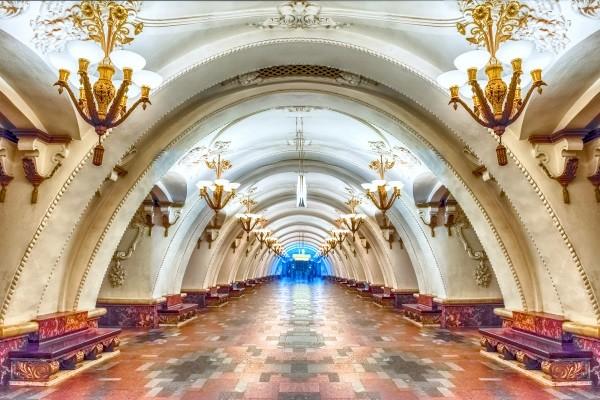Ville - Circuit Cap sur Moscou en hiver Moscou Russie