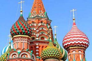 Vacances Saint Petersbourg: Croisière Lumières de Russie de St Pétersbourg à Moscou