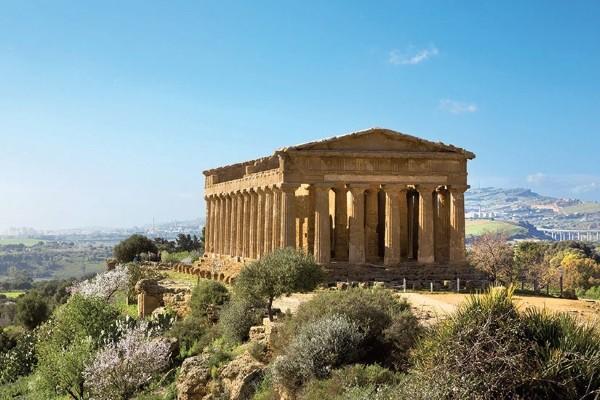 Agrigente Temple concorde