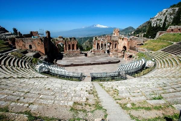 Monument - Circuit La Sicile, au pied d'un Volcan Palerme Sicile et Italie du Sud