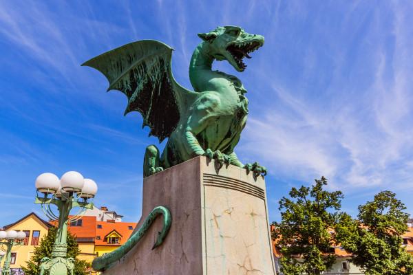Monument - Circuit La Slovénie au Naturel Ljubljana Slovenie