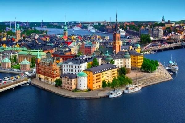 Ville - Circuit Transbaltique Stockholm Suede