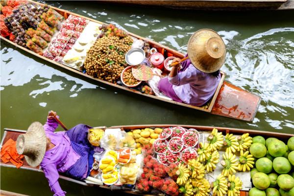 Damnoen Saduak - Les Essentiels de la Thaïlande & séjour libre