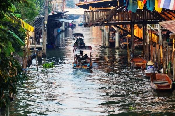 (fictif) - Circuit Thaïlande, le Pays qui Sourit Bangkok Thailande