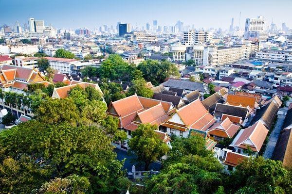 Ville - Circuit Des Capitales du Siam à Bansaphan Bangkok Thailande