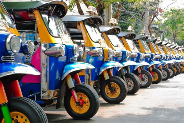 Ville - Circuit Du Pays du Sourire à l'île de Phuket Bangkok Thailande