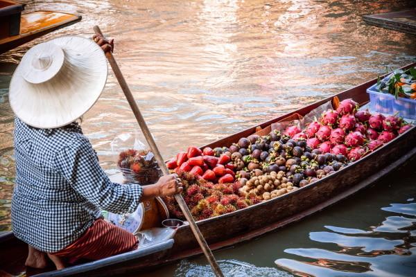Damnoen Saduak - Les Essentiels de la Thaïlande & farniente au Novotel Phuket Vintage Park