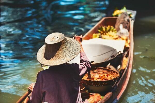 Bateau - Circuit Richesses et Traditions de Thaïlande & extension Cha Am Bangkok Thailande
