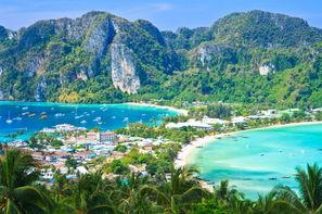 Thailande-Bangkok, Circuit Les Essentiels de la Thaïlande & farniente à l'Holiday Inn Resort Phi Phi Island