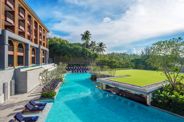 Piscine - Les Essentiels de la Thaïlande & farniente à l'Avista Grande Phuket Karon MGallery by Sofitel 5* Phuket Thailande