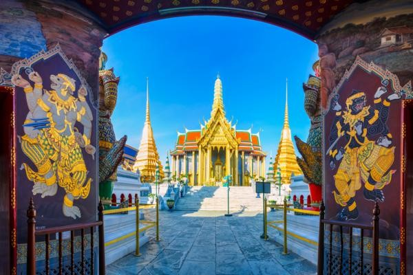 Monument - Circuit Richesses et traditions de Thaïlande + extension Cha-Am Bangkok Thailande