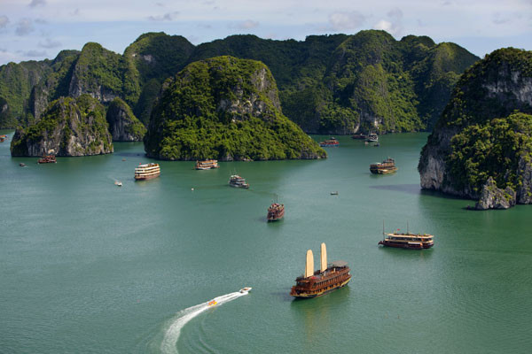 Baie d'Halong - Welcome Vietnam !