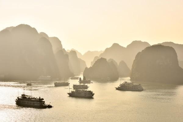 Nature - Circuit Des Rizières de Mai Chau à Halong Hanoi Vietnam