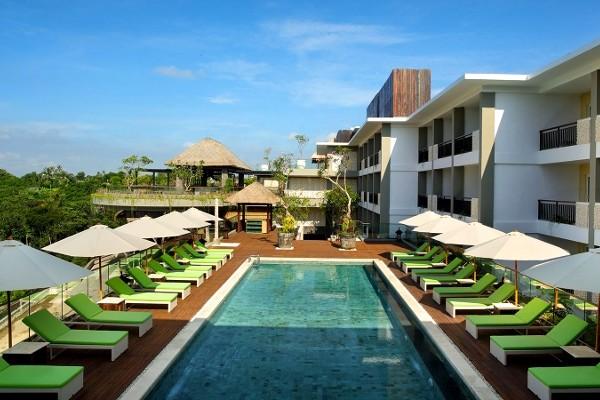 Piscine - Combiné hôtels - Balnéaire à l'hôtel Away Bali Legian Camakila 4* + Sthala, a Tribute Portfolio Hotel 5* à Ubud