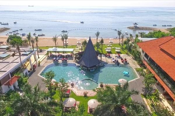 Piscine - Combiné hôtels - Balnéaire à l'hôtel Sadara Boutique Beach Resort à Benoa + Tjampuhan 4* Charme à Ubud 4* Denpasar Bali